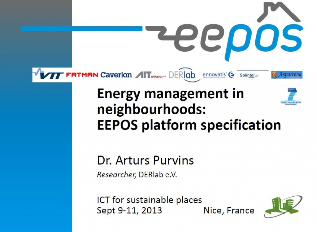 Energy management in neighbourhoods